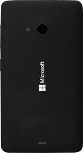 Microsoft Lumia 535 - Primeros pasos - Quitar y colocar la batería - Paso 5