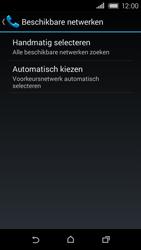 HTC Desire 320 - Netwerk - Handmatig netwerk selecteren - Stap 9