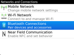 BlackBerry 9360 Curve - Bluetooth - Pair with another device - Step 5
