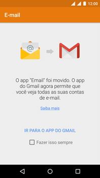 Motorola Moto X Play - Email - Como configurar seu celular para receber e enviar e-mails - Etapa 4