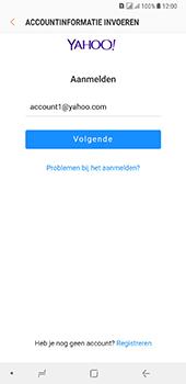 Samsung Galaxy A8 Plus - E-mail - handmatig instellen (yahoo) - Stap 8