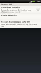 HTC Z520e One S - SMS - configuration manuelle - Étape 5