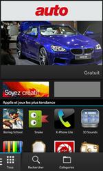 BlackBerry Z10 - Applications - Télécharger une application - Étape 3