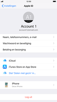 Apple iPhone 7 Plus iOS 11 - Beveiliging en privacy - Zoek mijn iPhone activeren - Stap 4