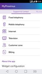 LG K8 - Applications - MyProximus - Step 22