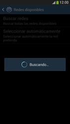 Samsung Galaxy S4 Mini - Red - Seleccionar una red - Paso 7
