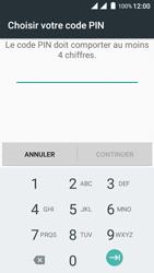 Wiko Freddy - Sécuriser votre mobile - Activer le code de verrouillage - Étape 7