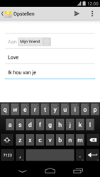 Google Nexus 5 - E-mail - Hoe te versturen - Stap 9