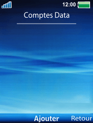 Sony Ericsson W100i Spiro - Internet - Configuration manuelle - Étape 6