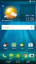 Acer Liquid Jade S - Paramètres - Reçus par SMS - Étape 3