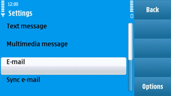 Nokia N97 - E-mail - Manual configuration - Step 5