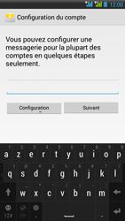 HTC Desire 516 - E-mail - Configuration manuelle - Étape 7