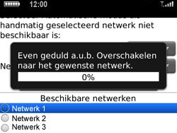 BlackBerry 9700 Bold - Netwerk - Gebruik in het buitenland - Stap 8