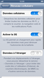 Apple iPhone 5 - Réseau - Changer mode réseau - Étape 5