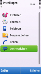 Nokia C6-00 - Bluetooth - headset, carkit verbinding - Stap 4