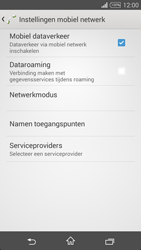 Sony Xperia T3 - Internet - Aan- of uitzetten - Stap 6
