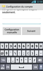 LG P700 Optimus L7 - E-mail - Configurer l