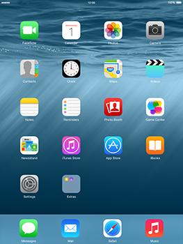 Apple iPad 4th generation iOS 8 - Internet - Internet browsing - Step 1