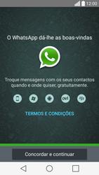LG C70 / SPIRIT - Aplicações - Como configurar o WhatsApp -  5