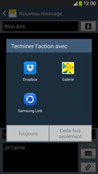 Samsung Galaxy Note 3 - Contact, Appels, SMS/MMS - Envoyer un MMS - Étape 15