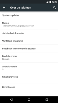 Google Nexus 6 - Software update - update installeren zonder PC - Stap 5