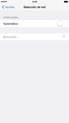 Apple iPhone 6 Plus iOS 8 - Red - Seleccionar una red - Paso 5