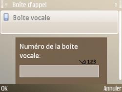 Nokia E72 - Messagerie vocale - Configuration manuelle - Étape 6