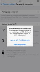 Apple iPhone 6 Plus iOS 8 - Internet et connexion - Utiliser le mode modem par USB - Étape 7