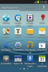 Samsung S6310 Galaxy Young - Internet - activer ou désactiver - Étape 3