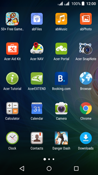 Acer Liquid Z630 - Internet - Internet browsing - Step 2