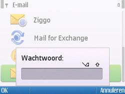 Nokia E5-00 - E-mail - handmatig instellen - Stap 11
