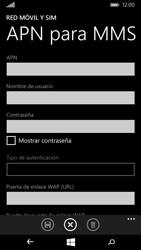 Microsoft Lumia 535 - Mensajería - Configurar el equipo para mensajes multimedia - Paso 7
