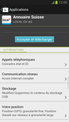 Samsung I9300 Galaxy S III - Applications - Télécharger des applications - Étape 9