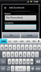 Sony Ericsson Xperia Neo - Internet - Internet browsing - Step 8
