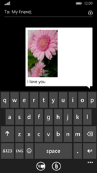 Nokia Lumia 830 - Mms - Sending a picture message - Step 12