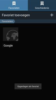 Samsung N9005 Galaxy Note III LTE - Internet - Internet gebruiken - Stap 11