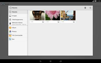 Sony Xperia Tablet Z2 (SGP521) - E-mail - envoyer un e-mail - Étape 11