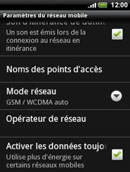 HTC A3333 Wildfire - Réseau - utilisation à l'étranger - Étape 9