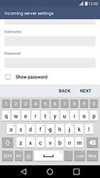LG K10 4G K420 - Email - Manual configuration - Step 11