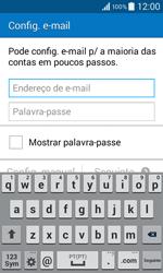 Samsung Galaxy Core II - Email - Adicionar conta de email -  5