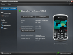 BlackBerry 9300 Curve 3G - Software - Update installeren via PC - Stap 17