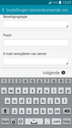 Samsung G901F Galaxy S5 Plus - E-mail - handmatig instellen - Stap 11