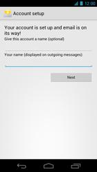 Samsung I9250 Galaxy Nexus - E-mail - Manual configuration - Step 12