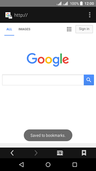 Acer Liquid Z630 - Internet - Internet browsing - Step 8
