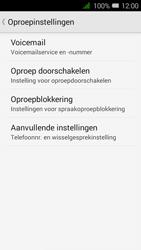 Alcatel OneTouch PIXI 3 (4.5) 3G (OT-4027X) - Voicemail - Handmatig instellen - Stap 6
