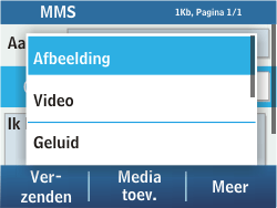 Samsung C3500 Chat 350 - MMS - hoe te versturen - Stap 10