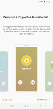 Samsung Galaxy S8+ - Contact, Appels, SMS/MMS - Ajouter un contact - Étape 4