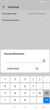 Huawei P30 Pro - Voicemail - handmatig instellen - Stap 9