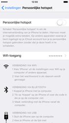 Apple iPhone 7 (Model A1778) - WiFi - Mobiele hotspot instellen - Stap 6
