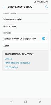 Samsung Galaxy S8 - Repor definições - Repor definições de fábrica do telemóvel -  6